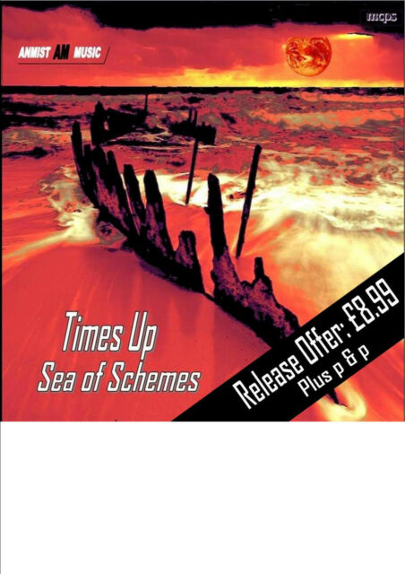 "Times Up C.D. ""Sea of Schemes"" music cds"