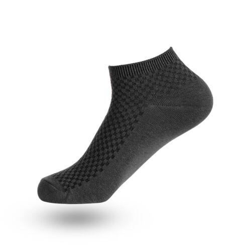 Men/'s Massage Socks Bamboo Fiber Short Ankle Anti-bacterial Invisible Socks Hot