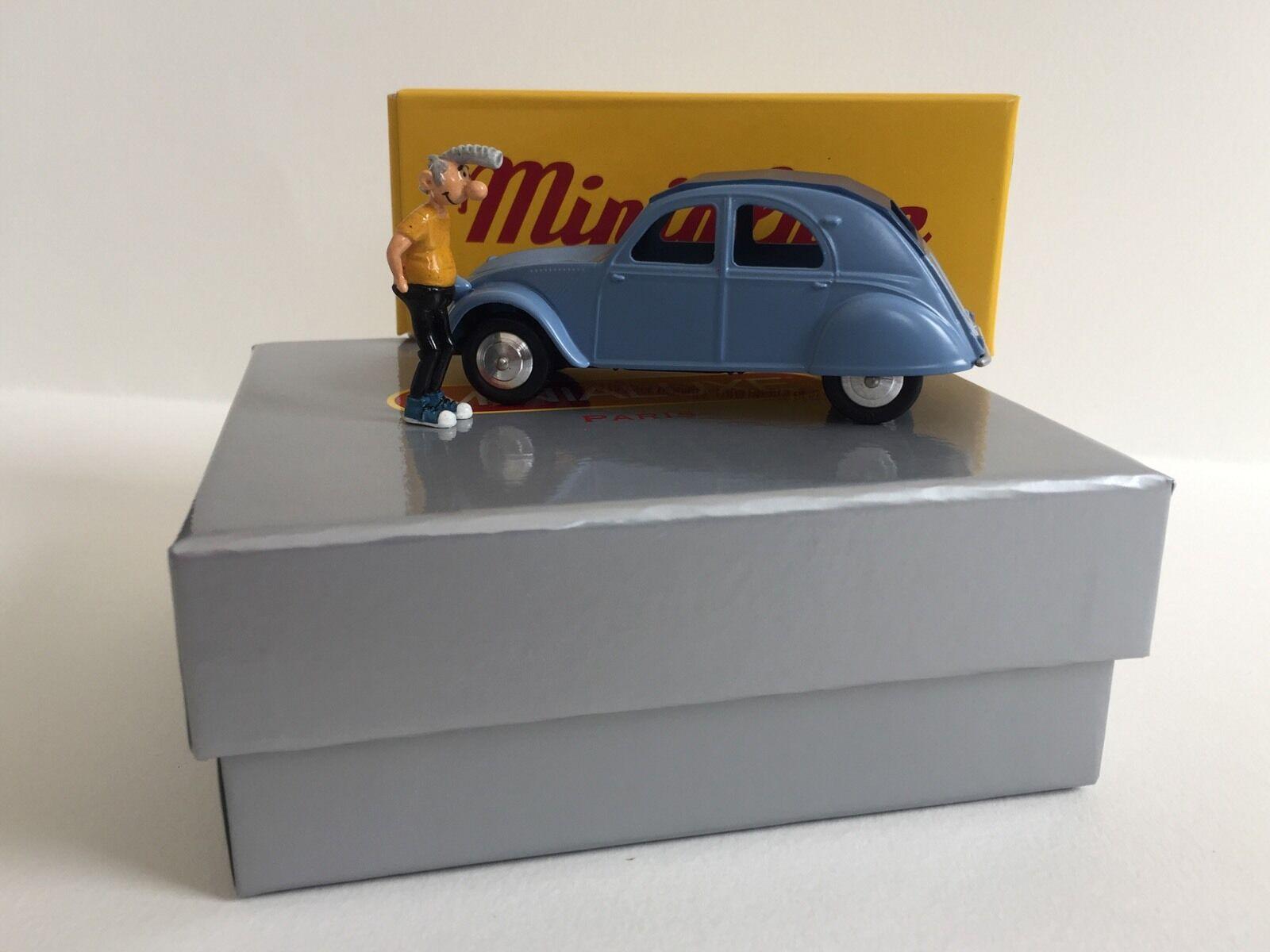 Cadeau de fin d'année, vente directe à l'usine Minialuxe Citroën 2 Cv 1/43 Lucien Margerin | Léger