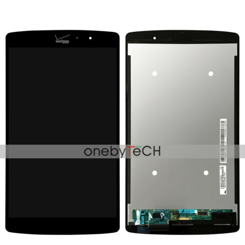 New LG VK815 G Pad X 8.3 LTE Black LCD Display Screen Touch Digitizer Assembly