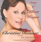 Songs of Albert Hague by Christine Reisner (CD, Christine Reisner Music)