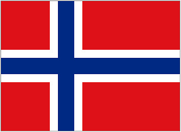 NORWAY 5ft x 3ft Flag