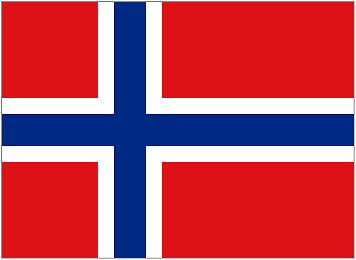 NORWAY 5ft x 3ft Flag