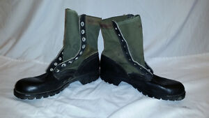 RO-SEARCH-1960s-GREEN-VIETNAM-HOT-WEATHER-JUNGLE-BOOTS-10-N-JJ-356
