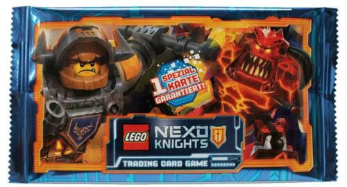 1 Booster Deutsch Trading Cards LEGO Nexo Knights
