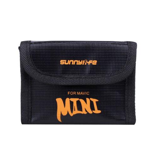 Haute qualité sac batterie anti-déflagrant étui protection pour DJI Mavic Mini