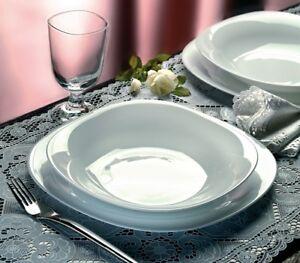 Marvelous Image Is Loading Bormioli Parma 18pc Square Dinner Serving Set Opal