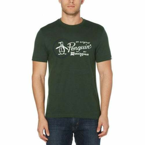 size Large L New with tags Original Penguin Combo Logo T-Shirt Sycamore