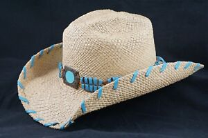 Bullhide by Montecarlo Hat Co. Del Mar Genuine Panama Hat Size Large ... b7d3925d4597