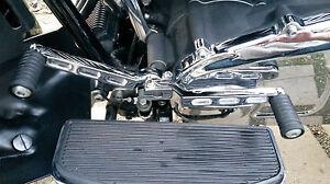 LEVA-del-cambio-per-Harley-Davidson-FLST-FLT-FLHT-ab-Bj-86-quadro-CULLA-2-pezzi