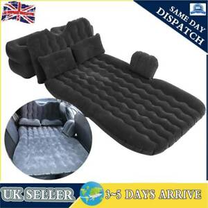 Car Inflatable Bed Back Seat Mattress Airbed for Rest Sleep Travel Camping UK