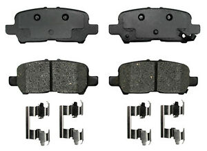 Disc Brake Pad Set-Semi Metallic Disc Brake Pad Rear ACDelco Pro Brakes