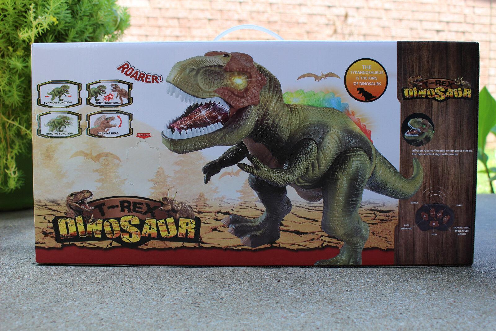 Roarer dinosaurier - fernbedienung t - rex - cousin des jurassic park.