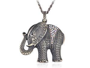 Gunmetal Clear Diamante Rhinestone Heart Key Lock Secret Pendant Necklace Gifts