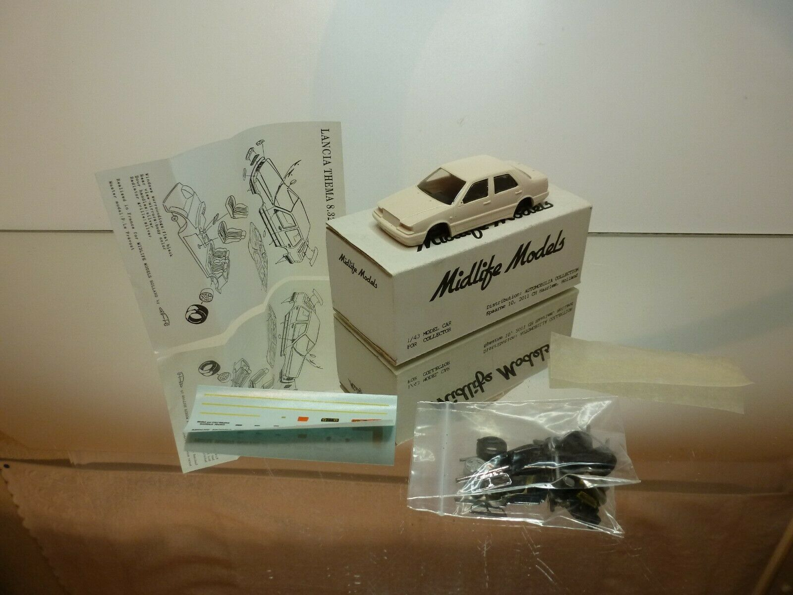 MIDLIFE MODELS GAFFE  1 LANCIA THEMA 8.32 - 1 43 UNBUILT CONDITION IN BOX