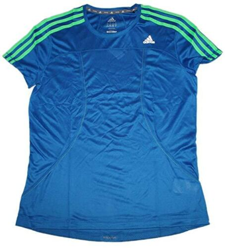 Adidas Damen Laufshirt Z75488 RSP SS T W Blau