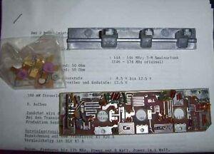 10-Watt-2-m-Leistungsverstaerker-144-146-MHz-50-Ohm-UB-12-5-V-Typ-PA-1258