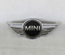MINI COOPER HOOD EMBLEM CLUBMAN S JCW GENUINE OEM CHROME BADGE symbol sign logo