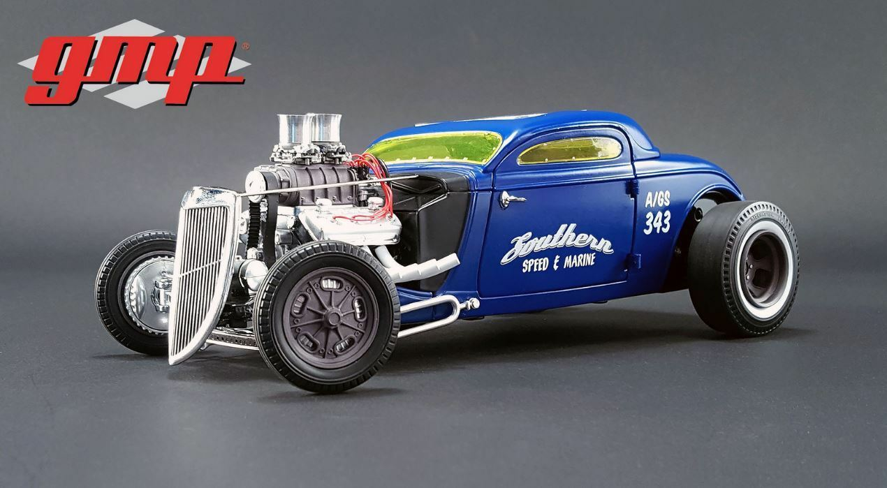 GMP GMP GMP 1934 Blown Alterouge Nitro Coupe - Southern Speed & Marine 1 18 8cbab0