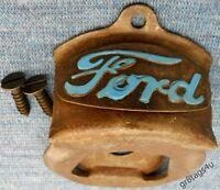 Ford Wall Mount Bottle Opener Soda Beer Historic