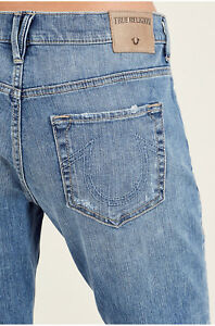 56a2ef844 True Religion Women s Cameron Slim Boyfriend Jeans in Aquarius Blues ...