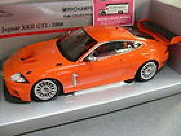 1 18 minichamps jaguar XKR gt3 Orange 2008