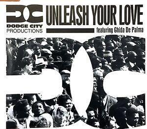Dodge-City-Productions-Maxi-CD-Unleash-Your-Love-Europe-M-EX