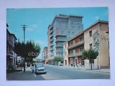 COLLEFERRO Roma Corso Turati FIAT 1100 vecchia cartolina