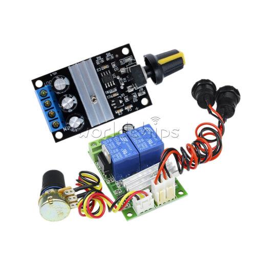 3A DC Motor Speed Control Switch PWM Regulator Reversible Controller Module