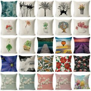 18-039-039-Plant-Flowers-Cotton-Linen-Throw-Pillow-Case-Cushion-Cover-Home-Sofa-Decor