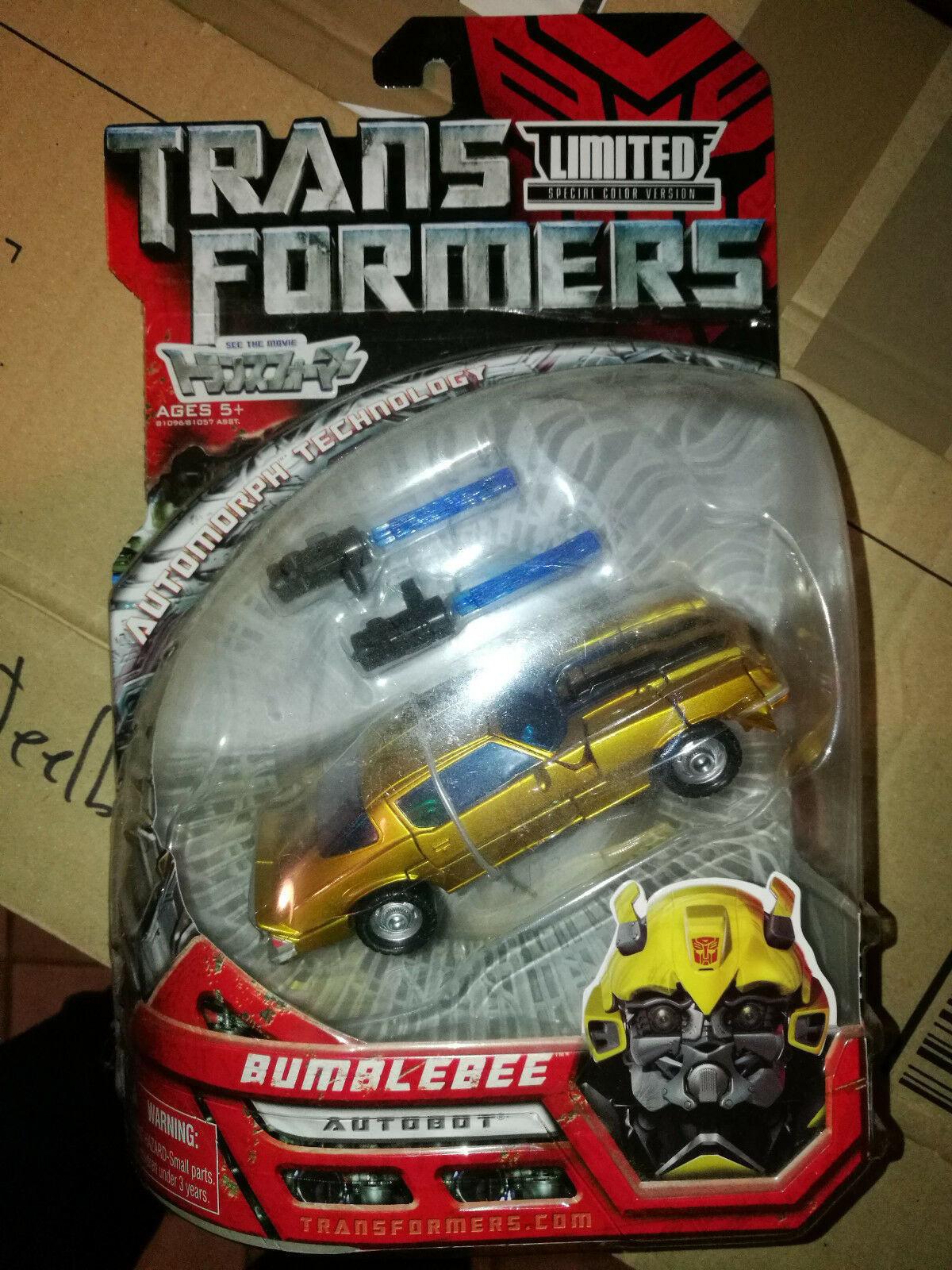Transformers Movie Deluxe Takara Lawson Limited Classic Camaro or Bumblebee
