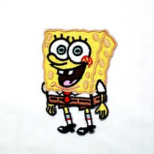SpongeBob SquarePants cartoon Movie Game Collection Badge T-Shirt Iron on Patch