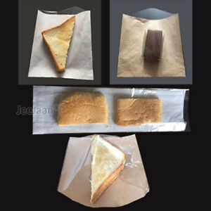 Film-Front-Bags-Paper-Clear-Window-Sandwiches-Cards-Cakes-buffet-Food-Cellophane