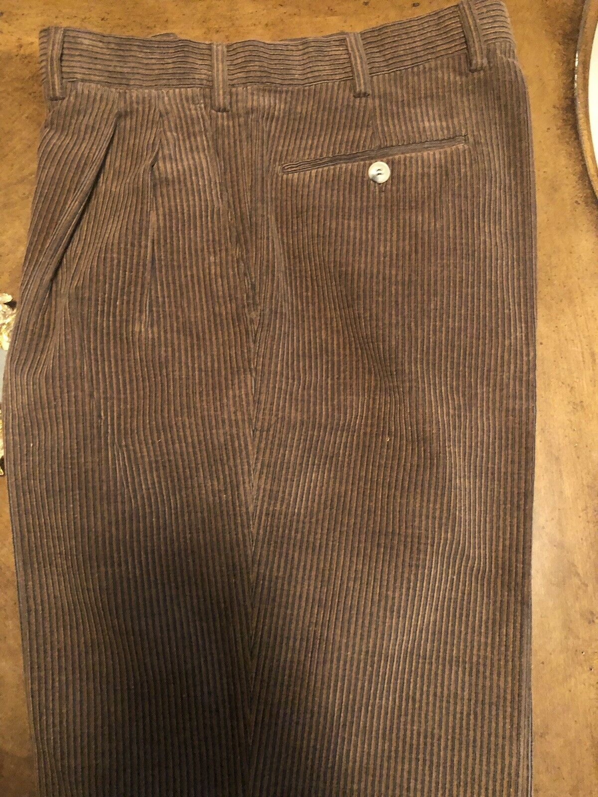 Battaglia Beverly Hills Pants Made In  Size 32 Brown