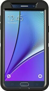 OtterBox DEFENDER Cell Phone Case for Samsung Galaxy Note5 - Retail Packaging -