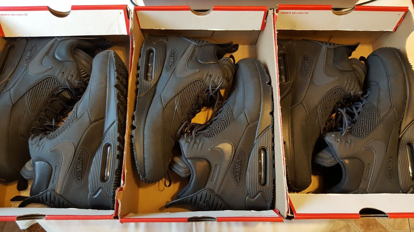 timeless design 64533 ca596 NIKE AIR MAX 90 SNEAKERBOOT WNTR 684714 002 85%OFF