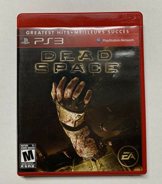 Dead Space [Greatest Hits] (Sony PlayStation 3) Complete Case Manual