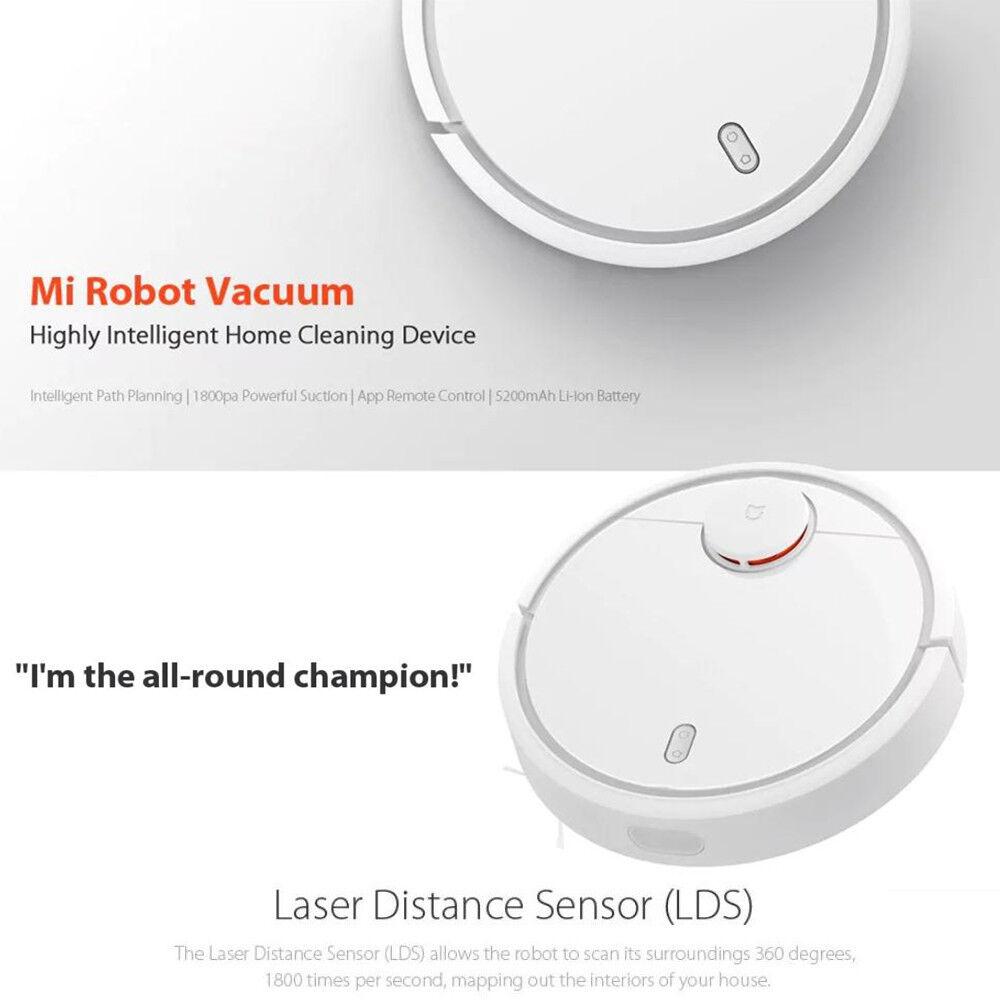 Original Smart Vacuum Cleaner App Remote Control Intelligent LDS Sensor