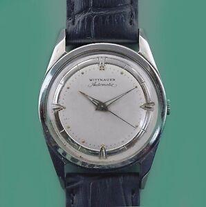 WITTNAUER Vintage 50 s Fancy Original Dial Automatic Men s watch  a01729576253