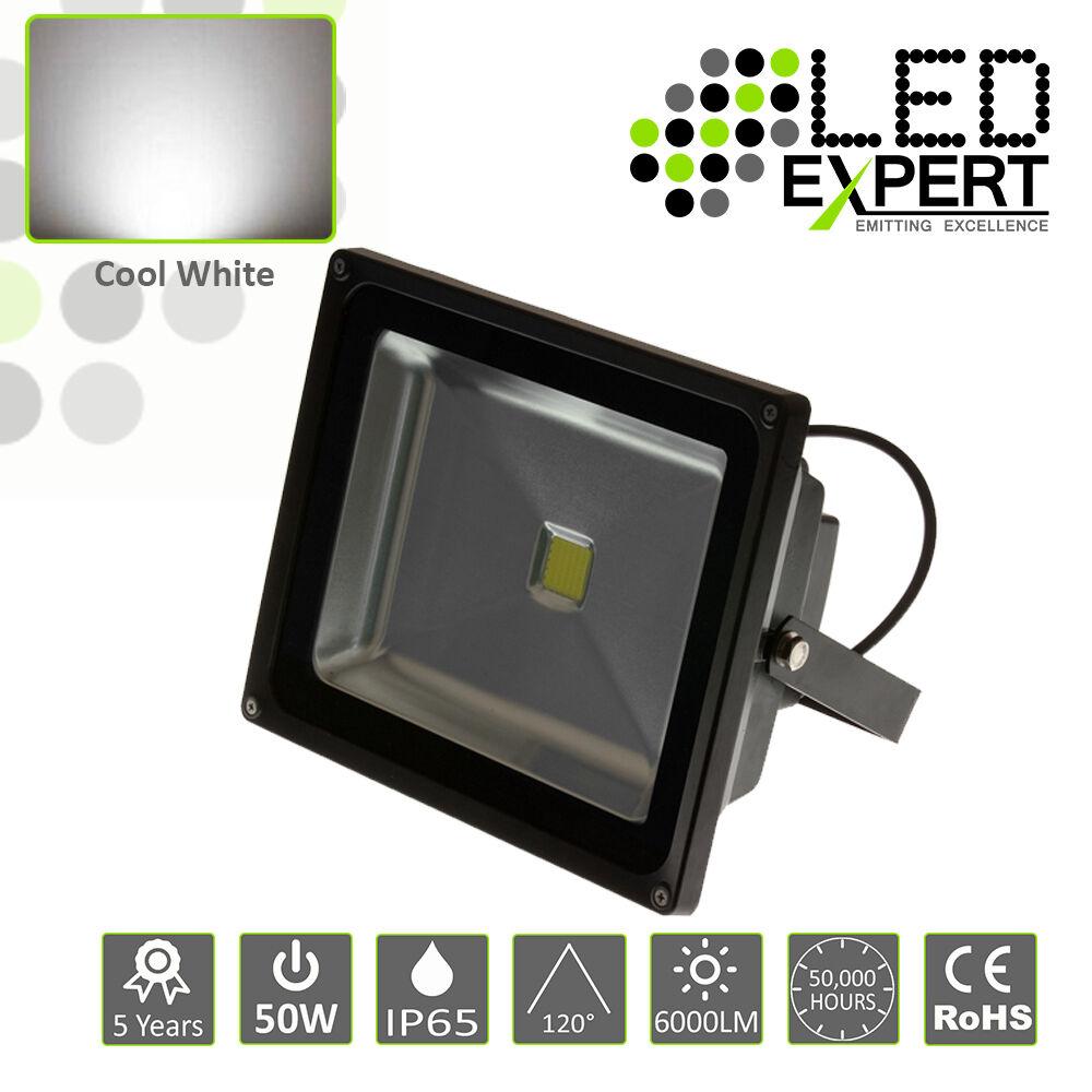 Esperto LED 50w LED inondazione di luce di sicurezza 5 anno di garanzia ip65 Cool bianca CE ROHS