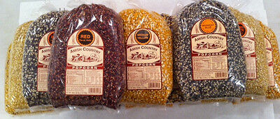 Amish Country Popcorn 6 lb Bags Choose From 13 Varieties Non-Gmo