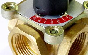 3 wege 4 wege mischer heizungsmischer messing heizung ventil nt 3 4 2 stellmotor ebay. Black Bedroom Furniture Sets. Home Design Ideas