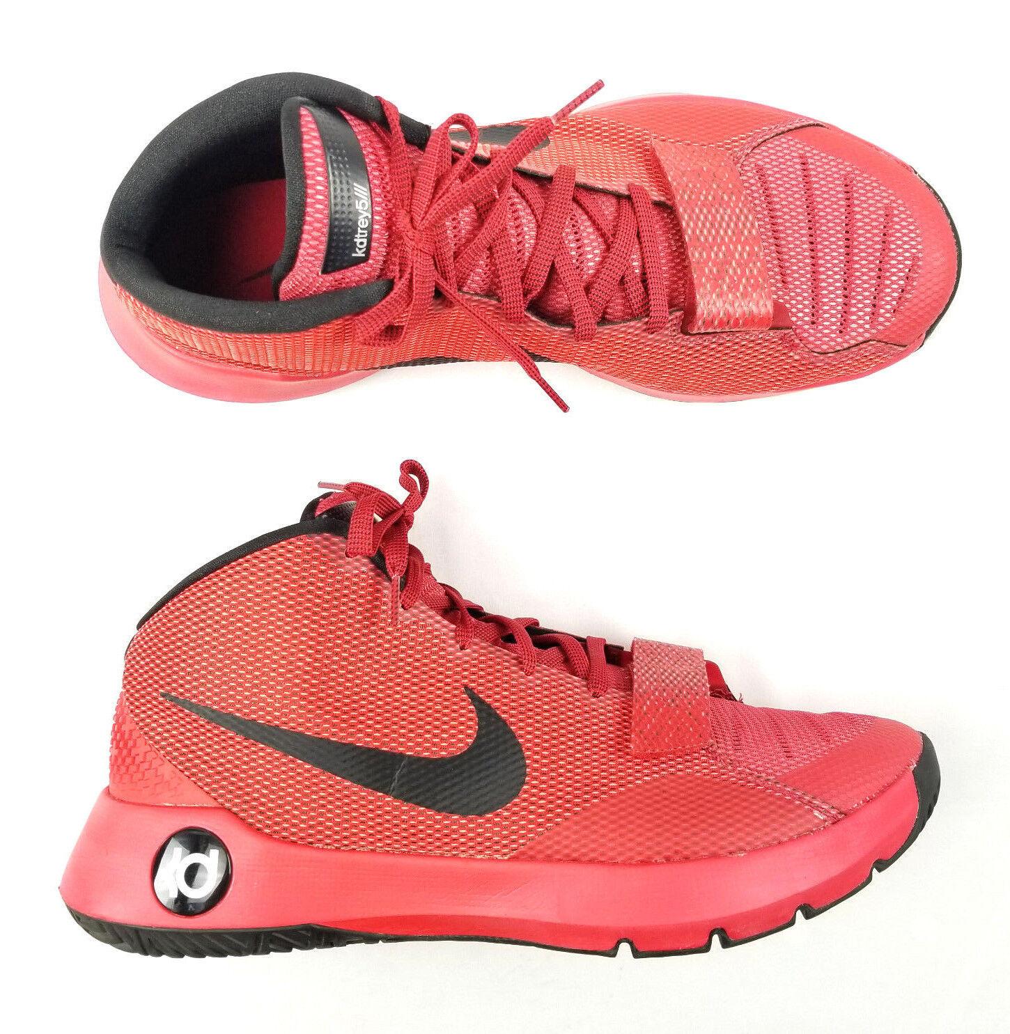 Nike kd trey 5 3 universität rot - schwarz größe. helle rote 749377-606 mens größe. schwarz 4dd320