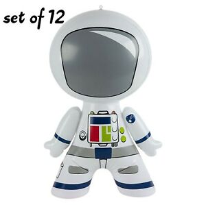 "24/"" Astronaut Space Inflatable inflate Blow Up Toy Party Decoration Set of 12"