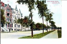 Chicago, IL  Large Homes On Lake Shore Drive 1910