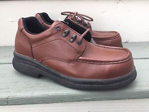 abb5300f75d Details about RED WING SHOES MENS 6659-2 STEEL TOE OXFORD SAFETY WORK men's  shoes sz 7.5D