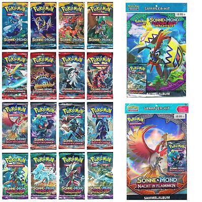 12 x Booster Pokemon Sonne /& Mond NEU Deutsch Serien je 3 StГјck