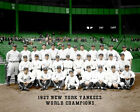 1927 New York Yankees Photo 8X10  Ruth Gehrig Colorized
