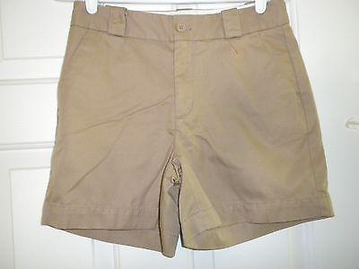 "Contemplative Ladies Juniors 1 Gap Khaki Shorts 4.5"" Inch Inseam New Pure White And Translucent Women's Clothing"