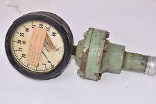 Vintage Ashcroft Bronze Tube Duragauge 0 60 Psi